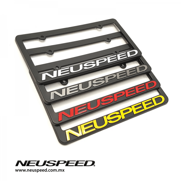 Neuspeed Par de Portaplacas Originales