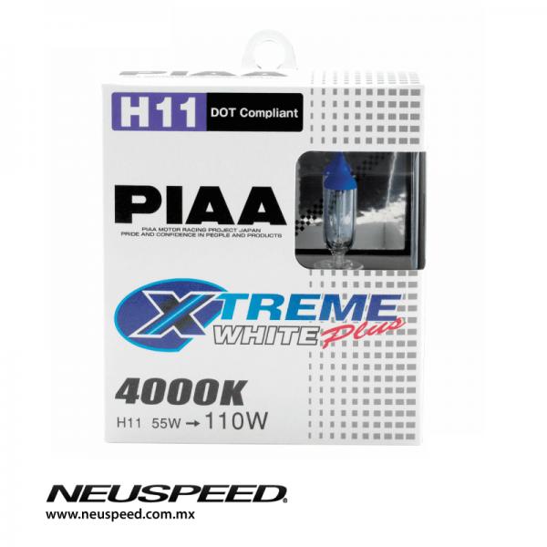 PIAA Par De Focos H11 Xtreme White Plus 4000K