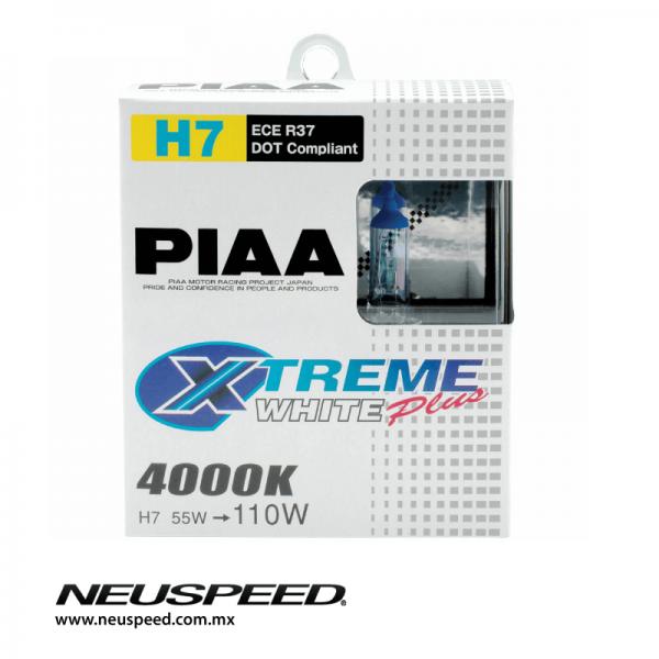 PIAA Par De Focos H7 Xtreme White Plus 4000K