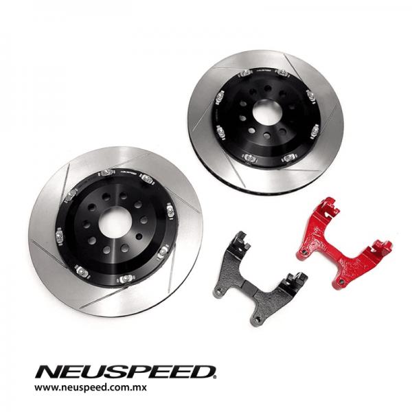 NEUSPEED 350mm Floating Rear Rotor Kit Mk7/7.5