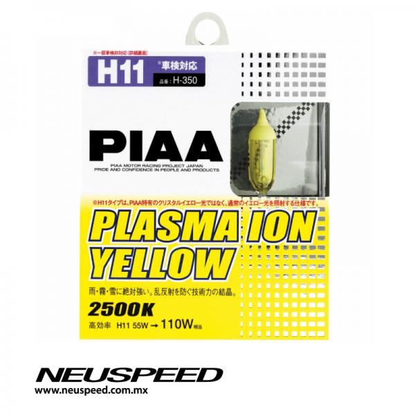 Piaa Par De Focos Tipo H11 Plasma Ion Yellow 2500k